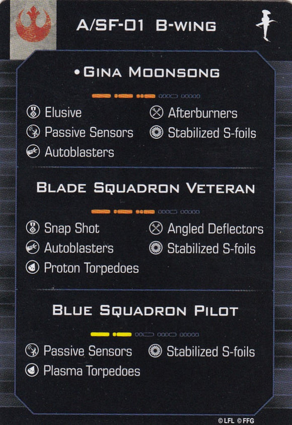 A/SF-01 B-Wing - Gina Moonsong