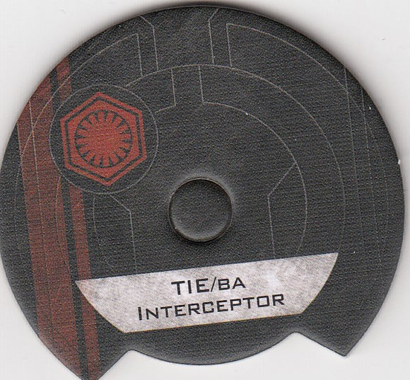 Tie/BA Interceptor  (First Order Dial)