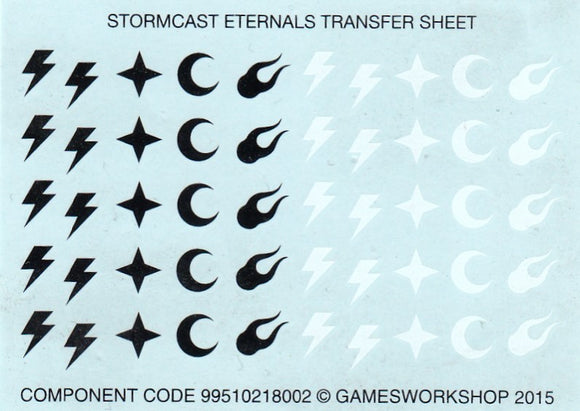Stormcast Eternals Transfer Sheet (b)