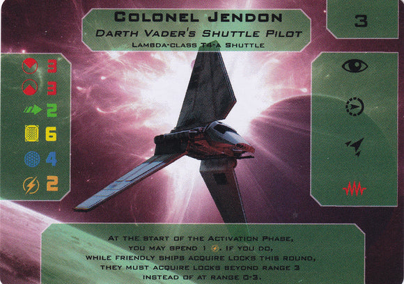 Imperial March Promo - Colonel Jendon (Xwing)