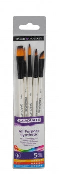 Daler Rowney Graduate All Purpose Synthetic Set (2)
