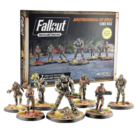 Fallout: Wasteland Warfare - Brotherhood of Steel Core Game Box