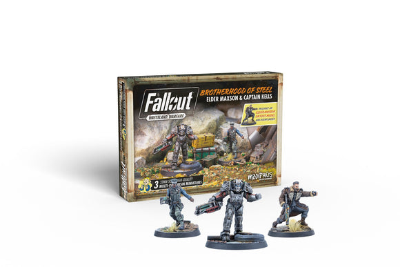 Fallout: Wasteland Warfare - Brotherhood of Steel Maxon and Captain Kells