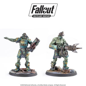 Fallout: Wasteland Warfare - Super Mutants: Overlord and Fist