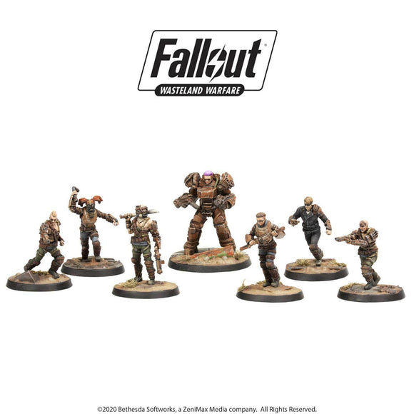 Fallout: Wasteland Warfare - Raiders Core Set