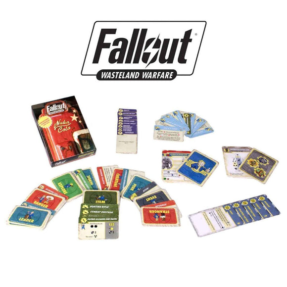 Fallout: Wasteland Warfare - Raiders Wave Expansion Card Pack
