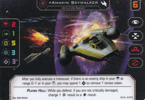 Anakin Skywalker Y-Wing Spot Gloss Promo Card