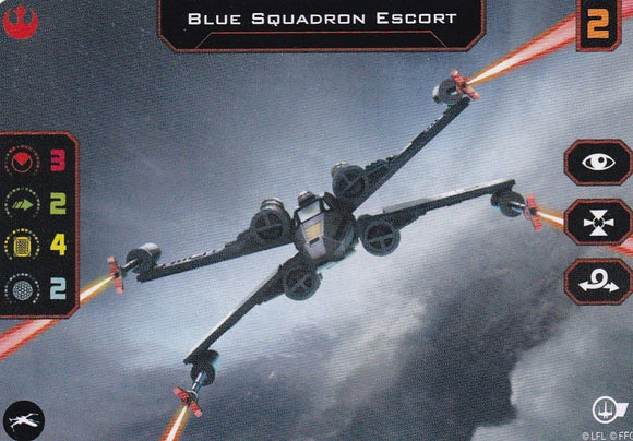 Blue Squadron Escort Quick Build Promo