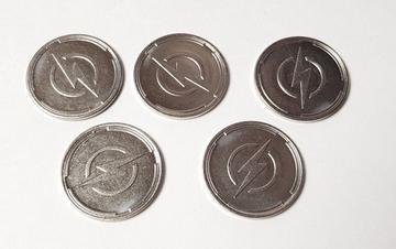 Promo Metal Charge Tokens x5