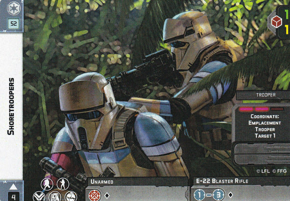 Shoretroopers Double Sided
