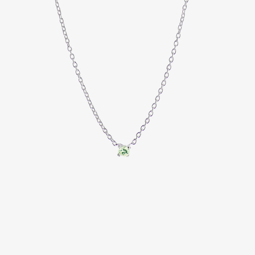 Birthstone Necklace August