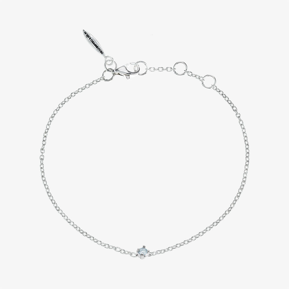 Birthstone Bracelet March