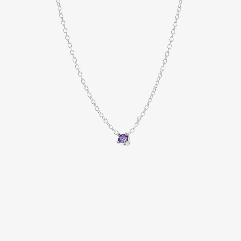 Birthstone Necklace December