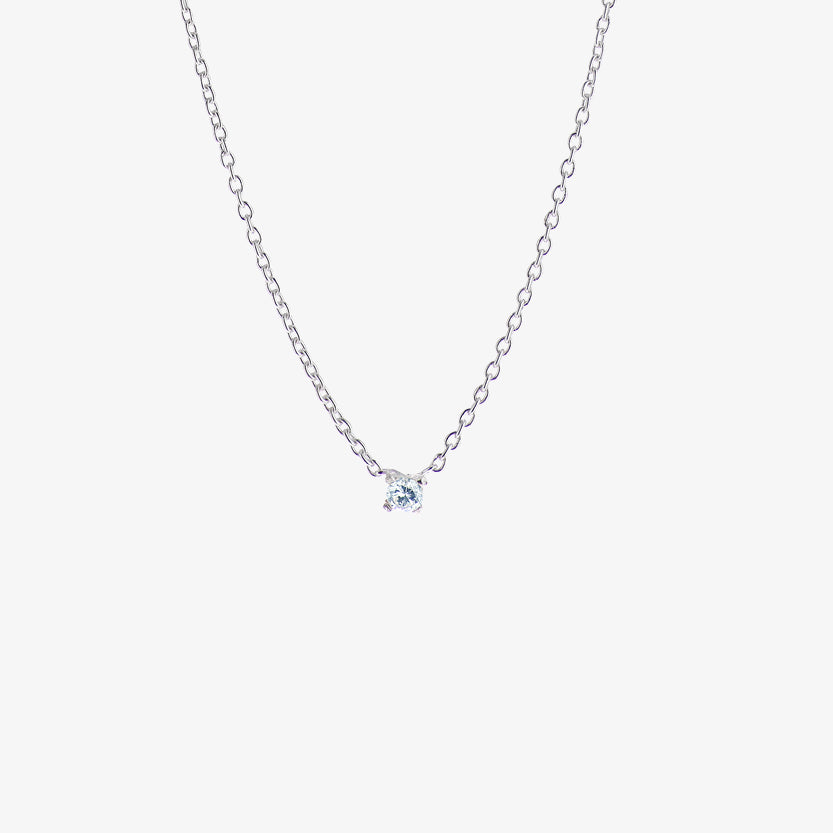 Birthstone Necklace March