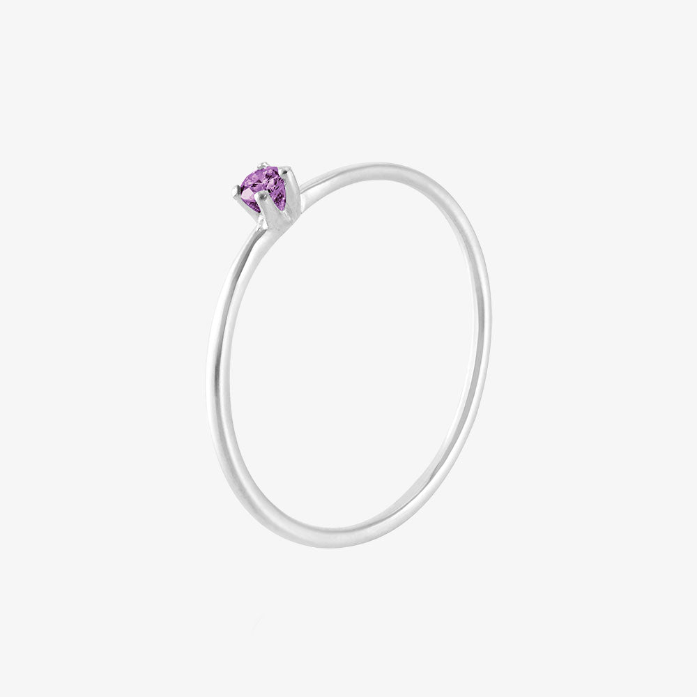 Birthstone Ring February