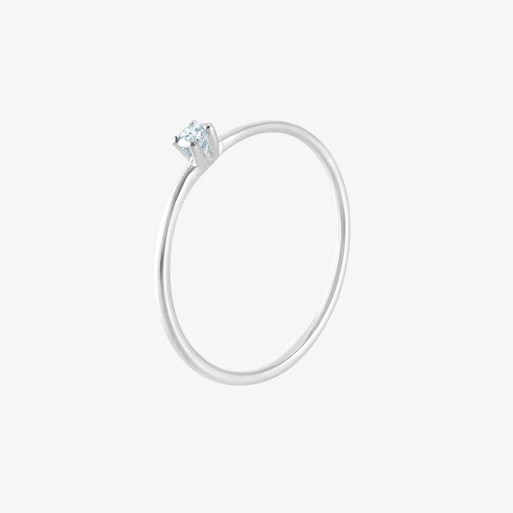 Birthstone Ring March