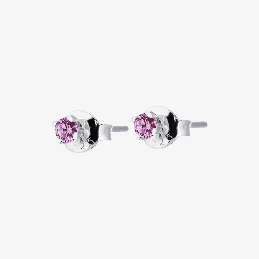 Birthstone Studs February