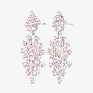 Frost Earrings Rose Quartz