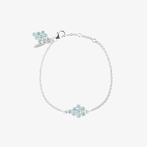 Frost Single Bracelet Blue Topaz