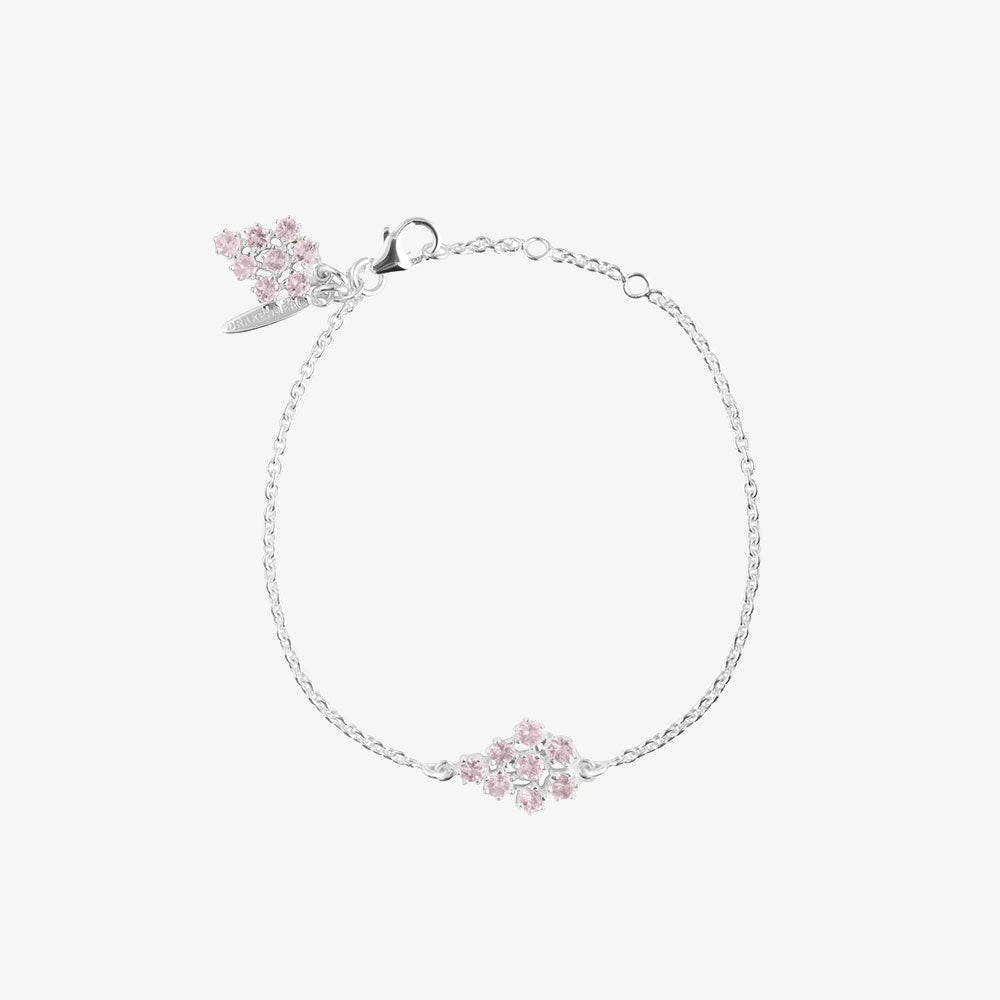 Frost Single Bracelet Rose Quartz