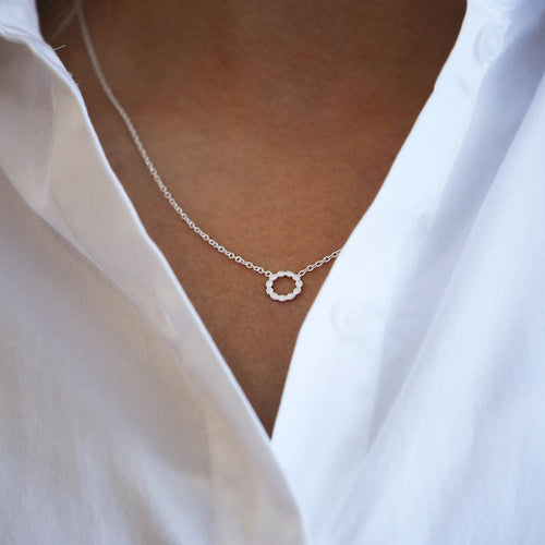 Halo Single Necklace