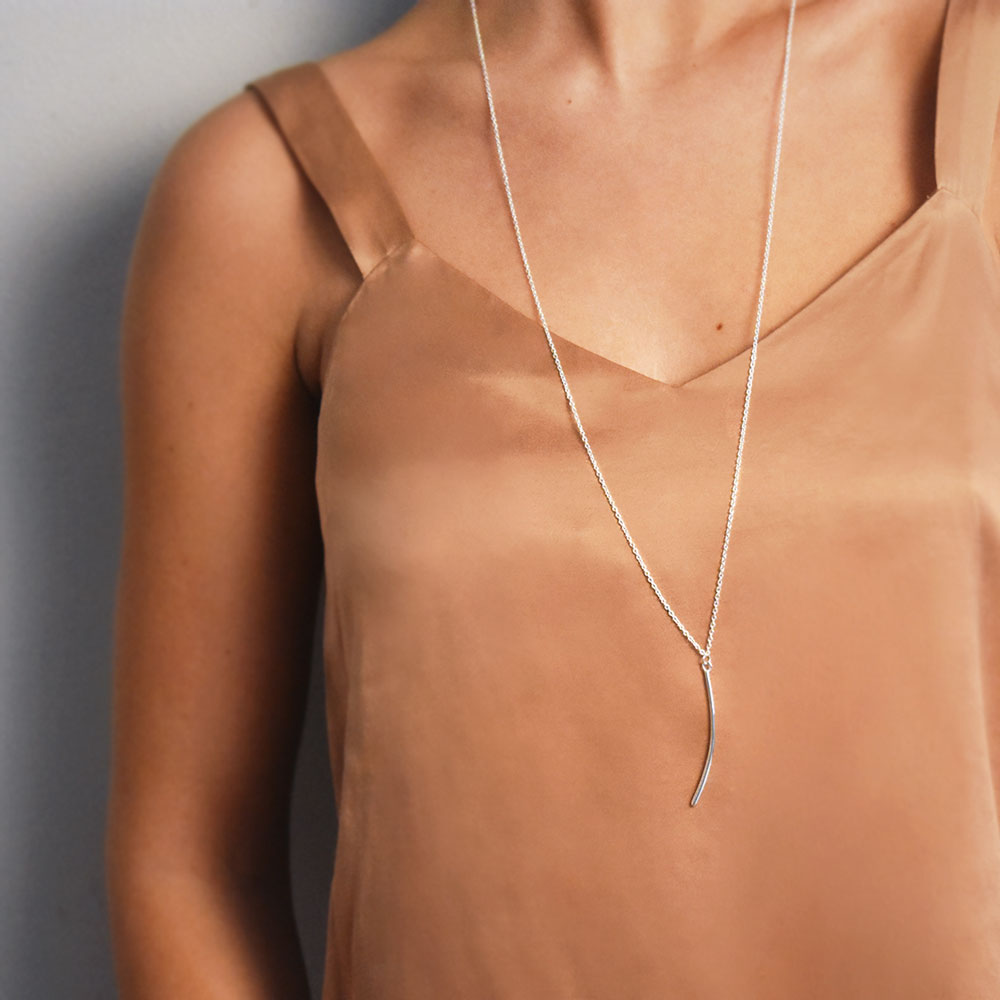 Icicle Single Necklace Long