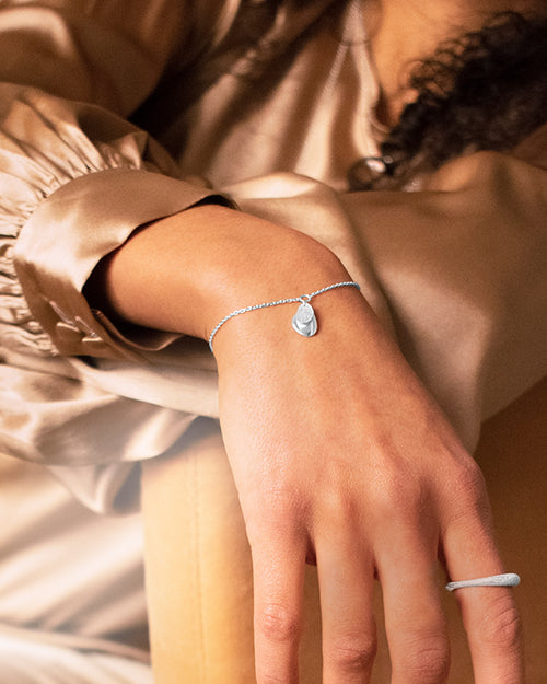 Lakeside drop bracelet
