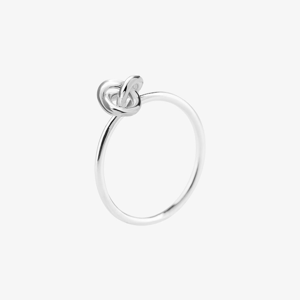 Le Knot Drop Ring