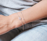 Loving Heart Drop Full Bracelet