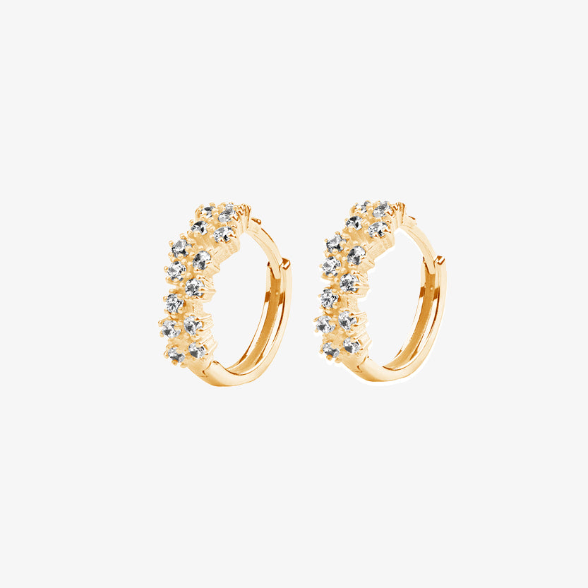 Milky Way Hoops Gold