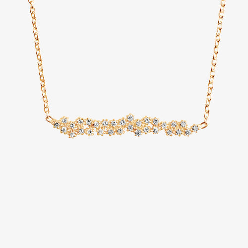 Milky Way Necklace Gold