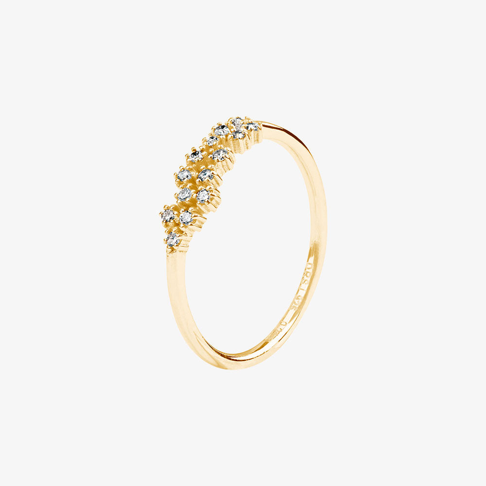Milky Way Ring Gold