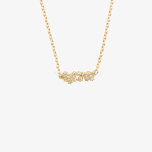 Milky Way Single Necklace Gold