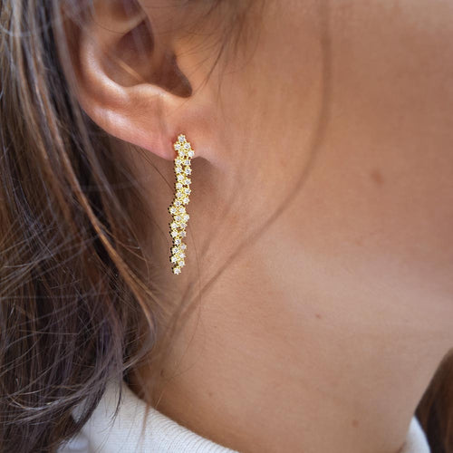 Milky Way Earrings Gold
