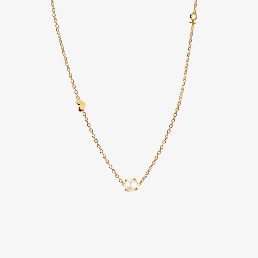 Petite Treasure Necklace Gold