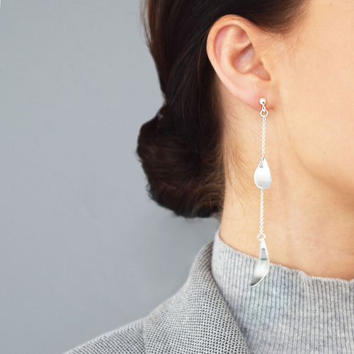 Rain Long Earrings
