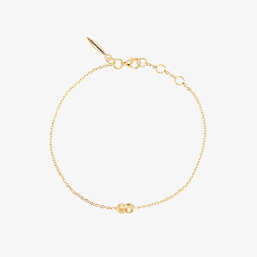 Rocky Shore Drop Bracelet Gold