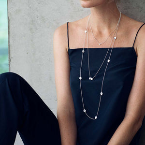 Rocky Shore Medium Single Necklace Long