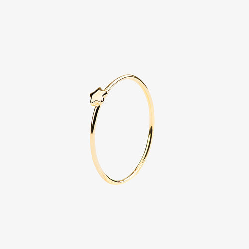 Stella Nova Drop Ring Gold