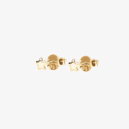 Stella Nova Drop Studs Gold