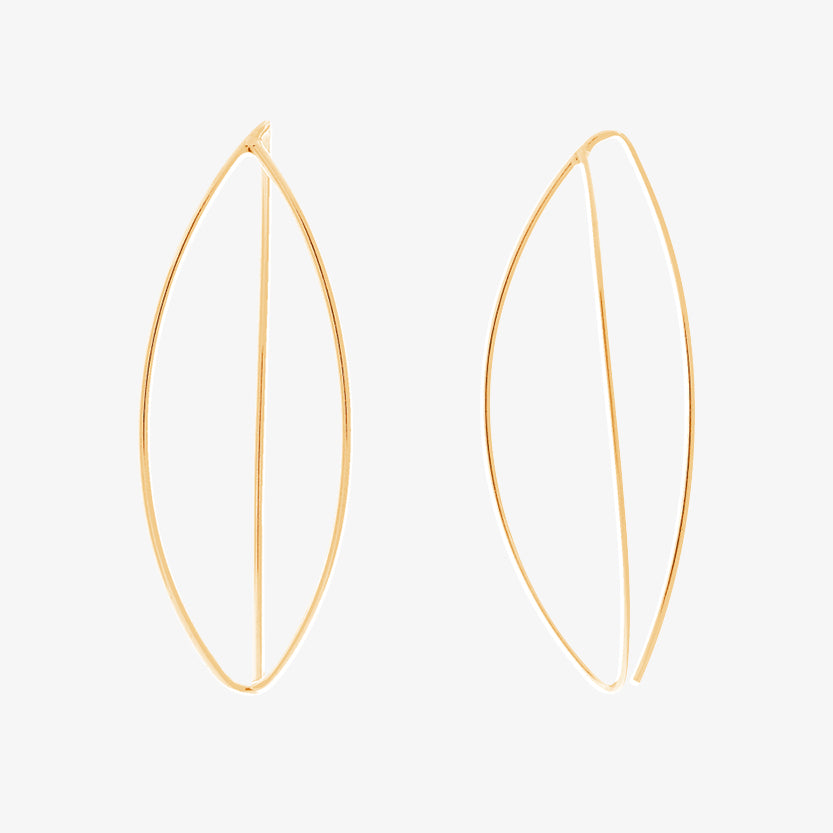 Together Big Earrings Gold