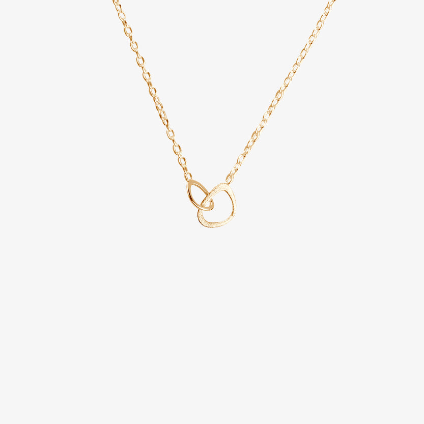 Together Drop Necklace Gold