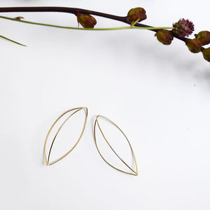 Together Small Earrings Gold
