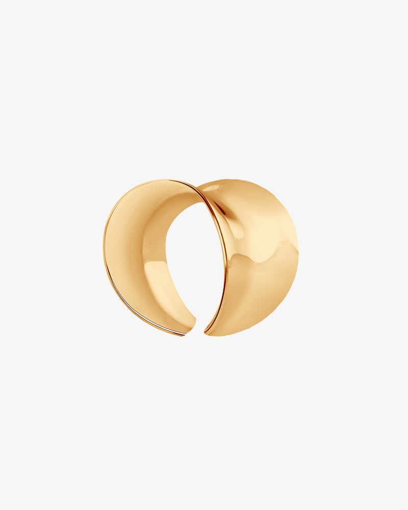 Wave Small Ring gold