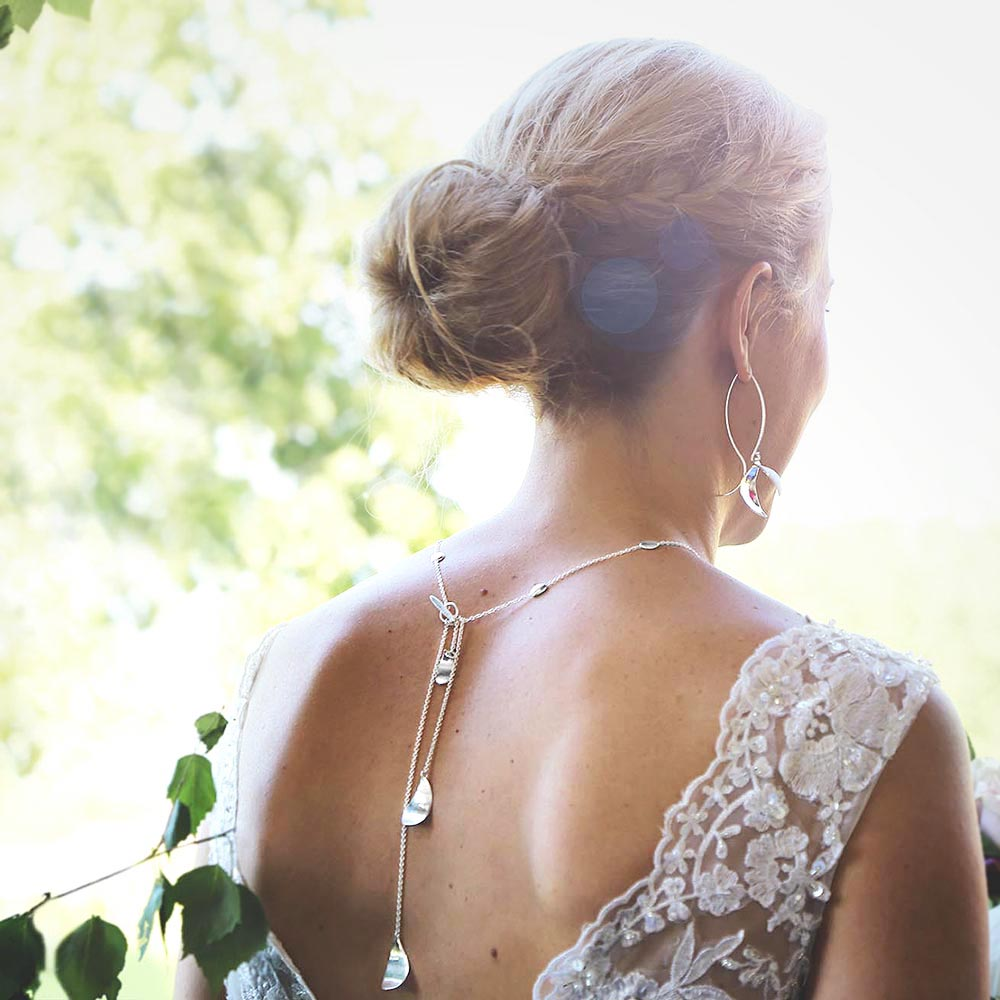 Morning Dew Wedding Necklace
