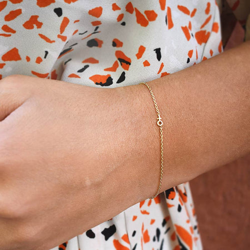 Women Unite Drop Bracelet Gold
