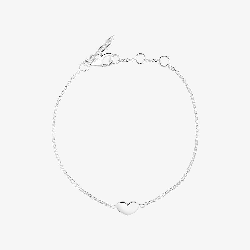 Loving Heart Medium Single Bracelet