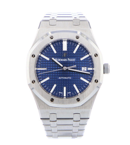 Royal Oak 15400 Blue Dial New Unworn