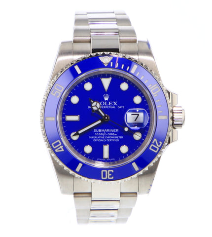 Rolex Submariner Smurf 116619LB