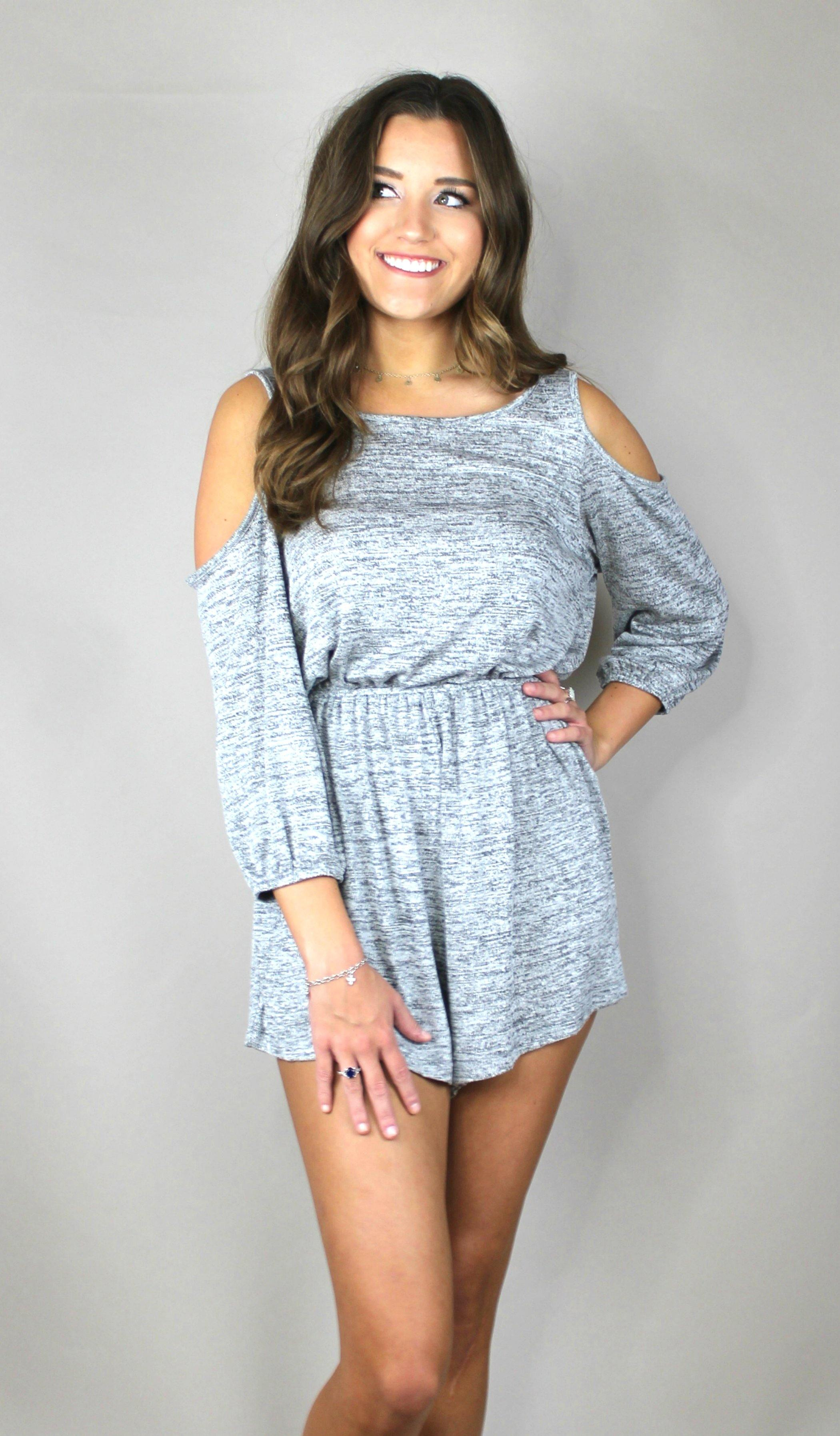 ON-THE-GO ROMPER - elbie boutique, LLC